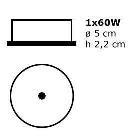 Esedra accessoires ES 386900C Chrome