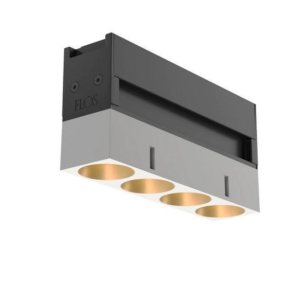 Flos Architectural Light Shadow LED Lighting Module AN 03.9623.40A Gold / Weiß